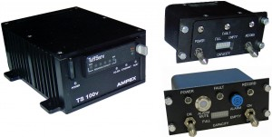 TS-100V Video Recorder/Server and Two Cockpit Control Unit Versions